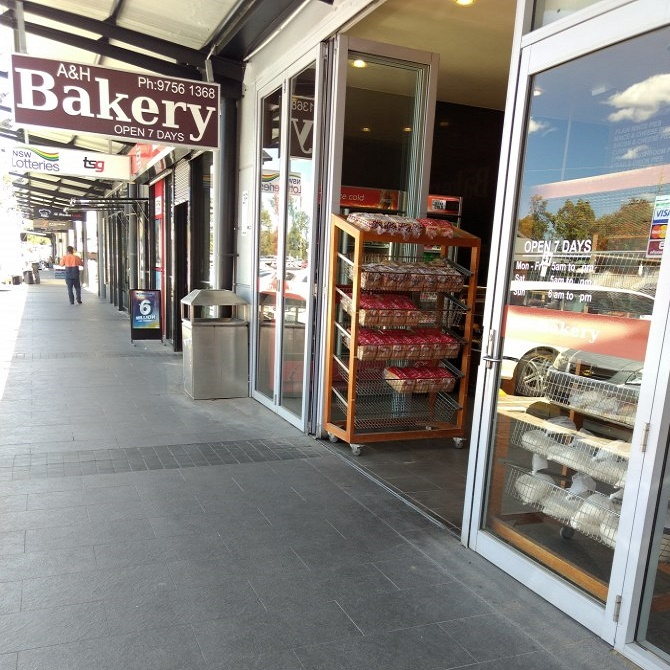 A & H Bakery store