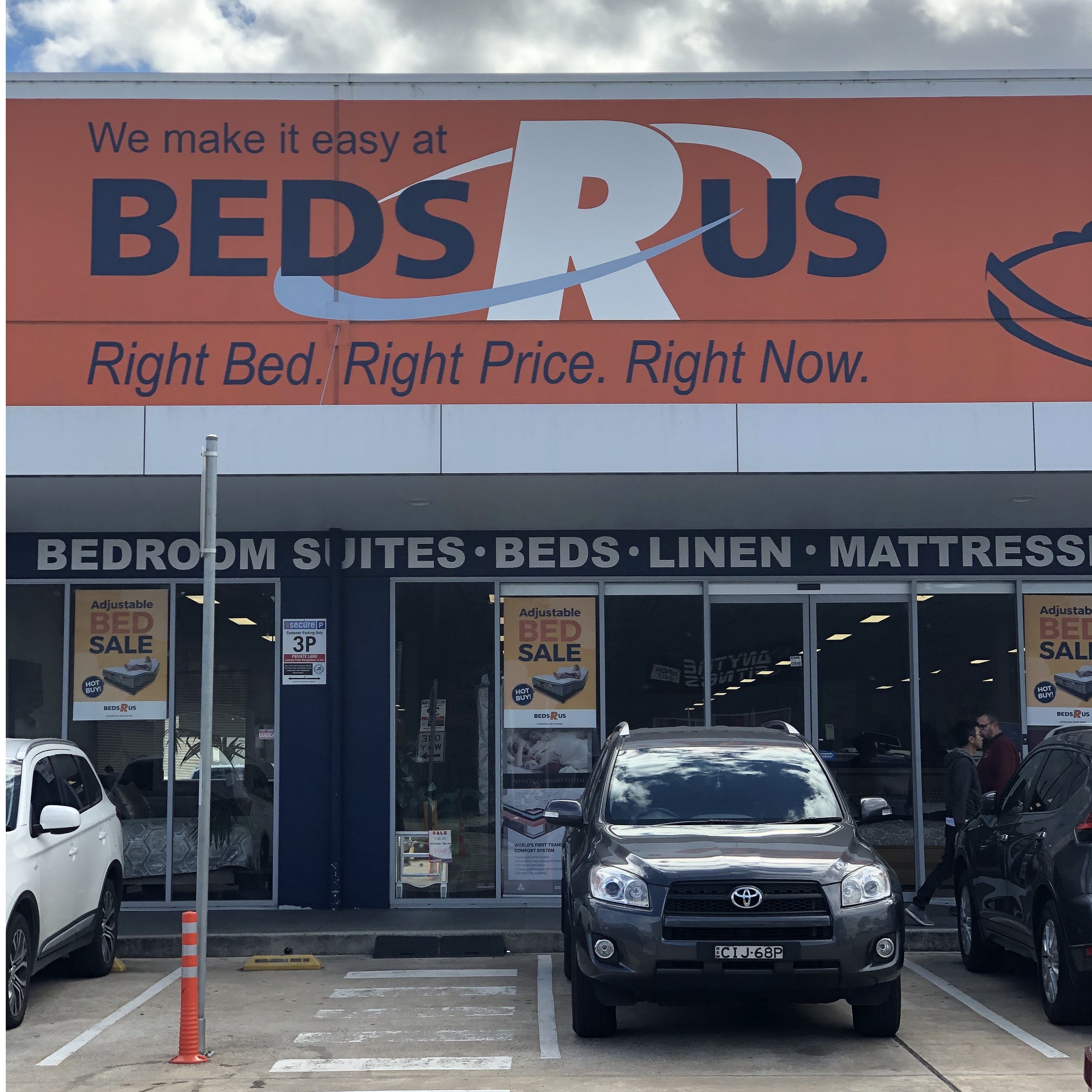 Beds R Us store