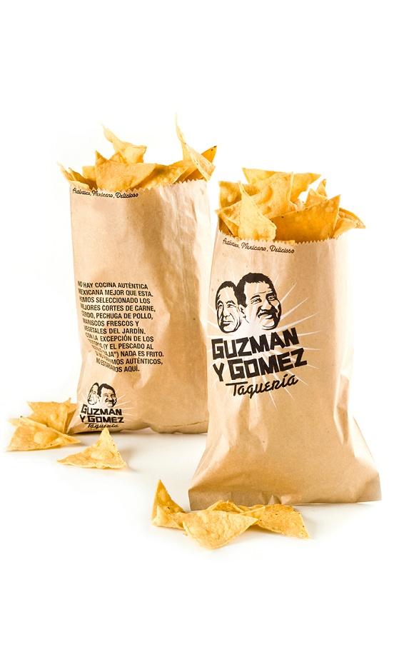 Guzman Y Gomez display