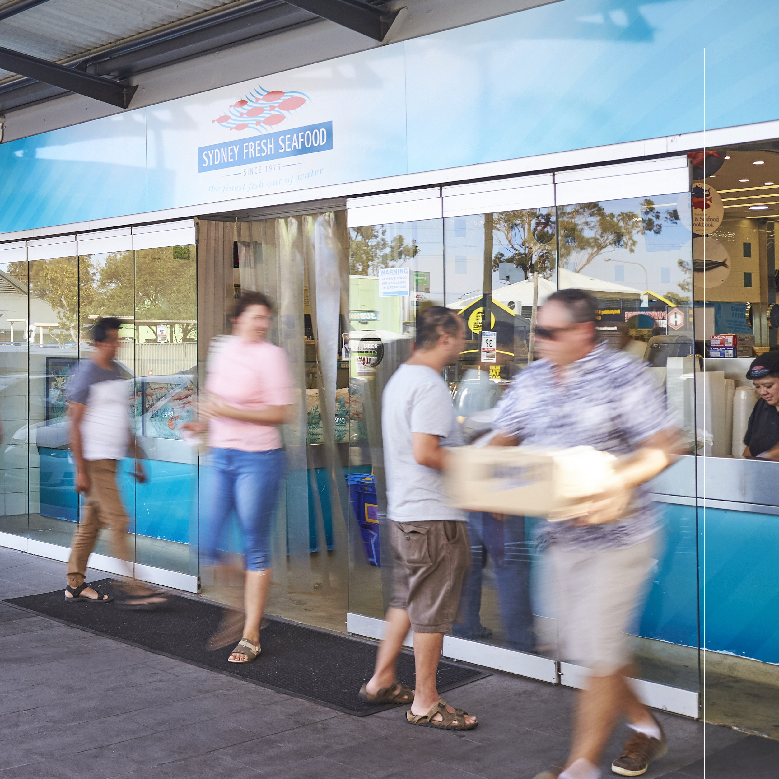 Sydney Fresh Seafood store