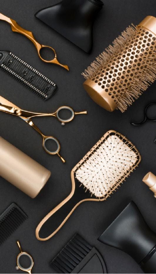 Zagari's Hair Salon | Baci Hair display