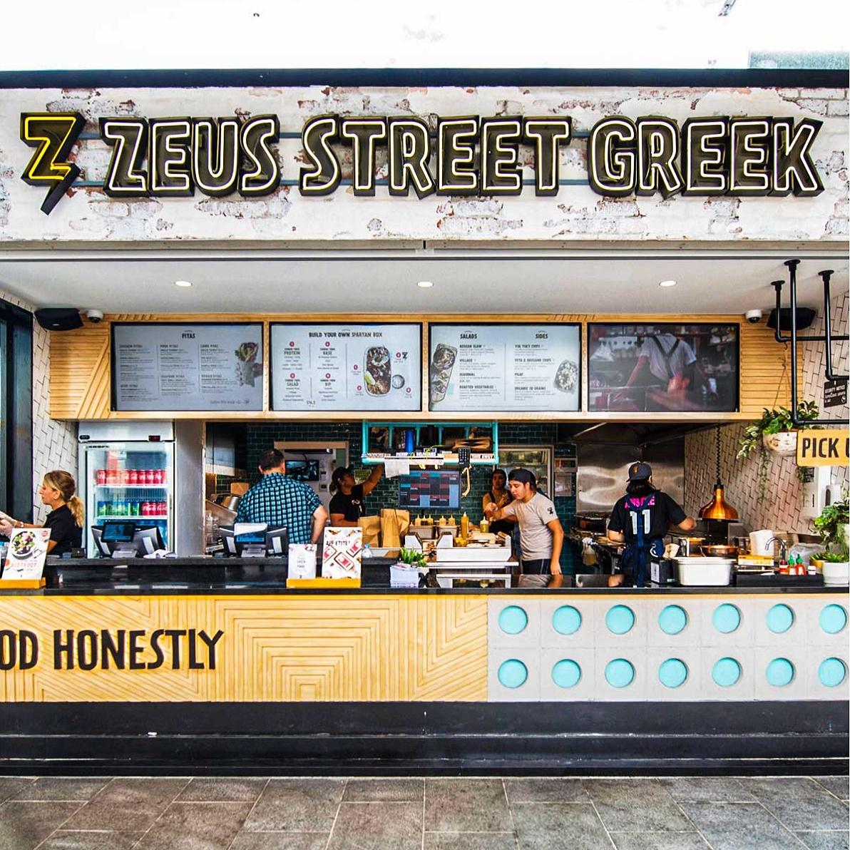 Zeus Street Greek store