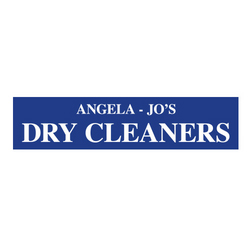 Angela Jo's Dry Cleaners Logo