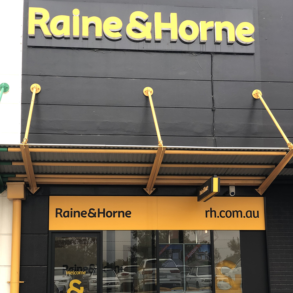 Raine and Horne store