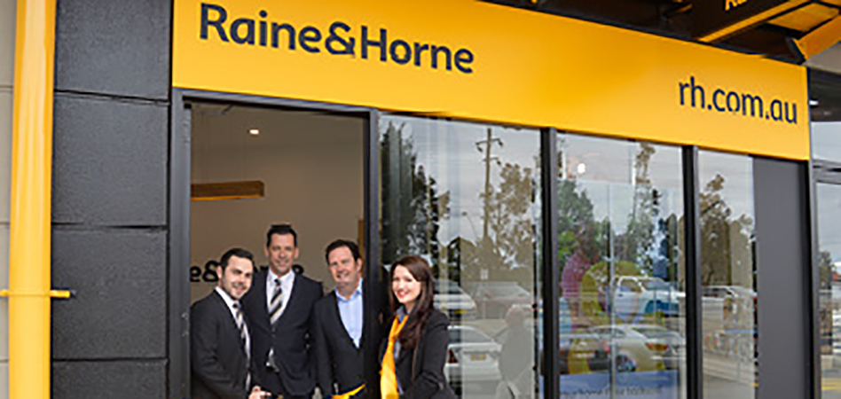 Raine and Horne banner