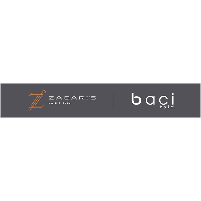 Zagari's Hair Salon | Baci Hair Logo