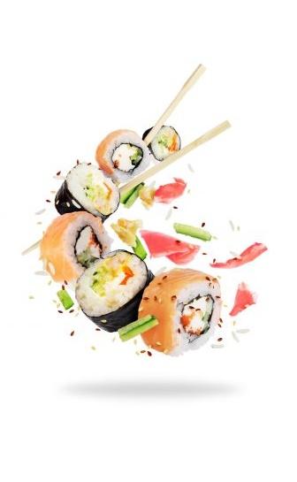 Spring Sushi display