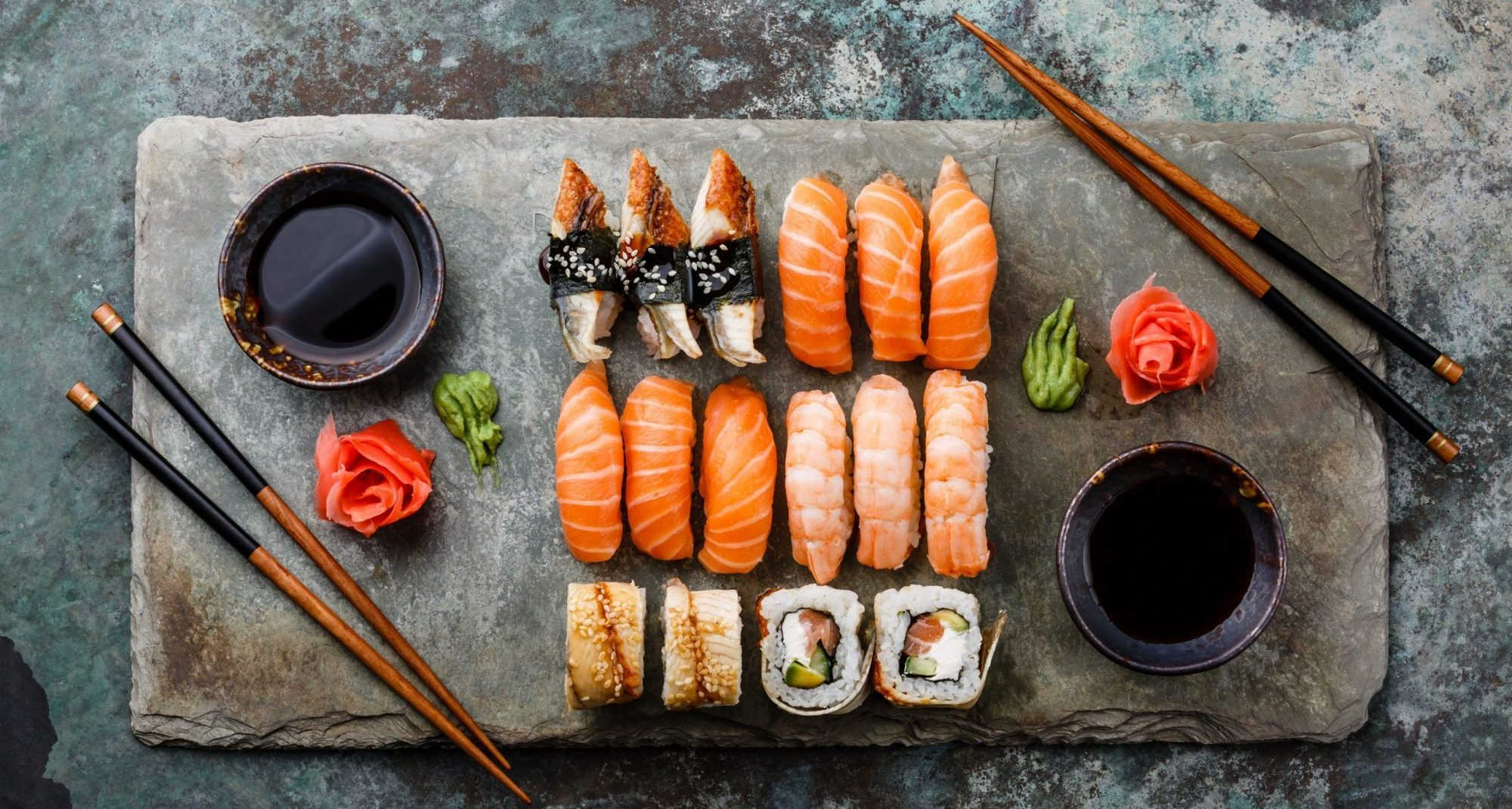 Spring Sushi banner